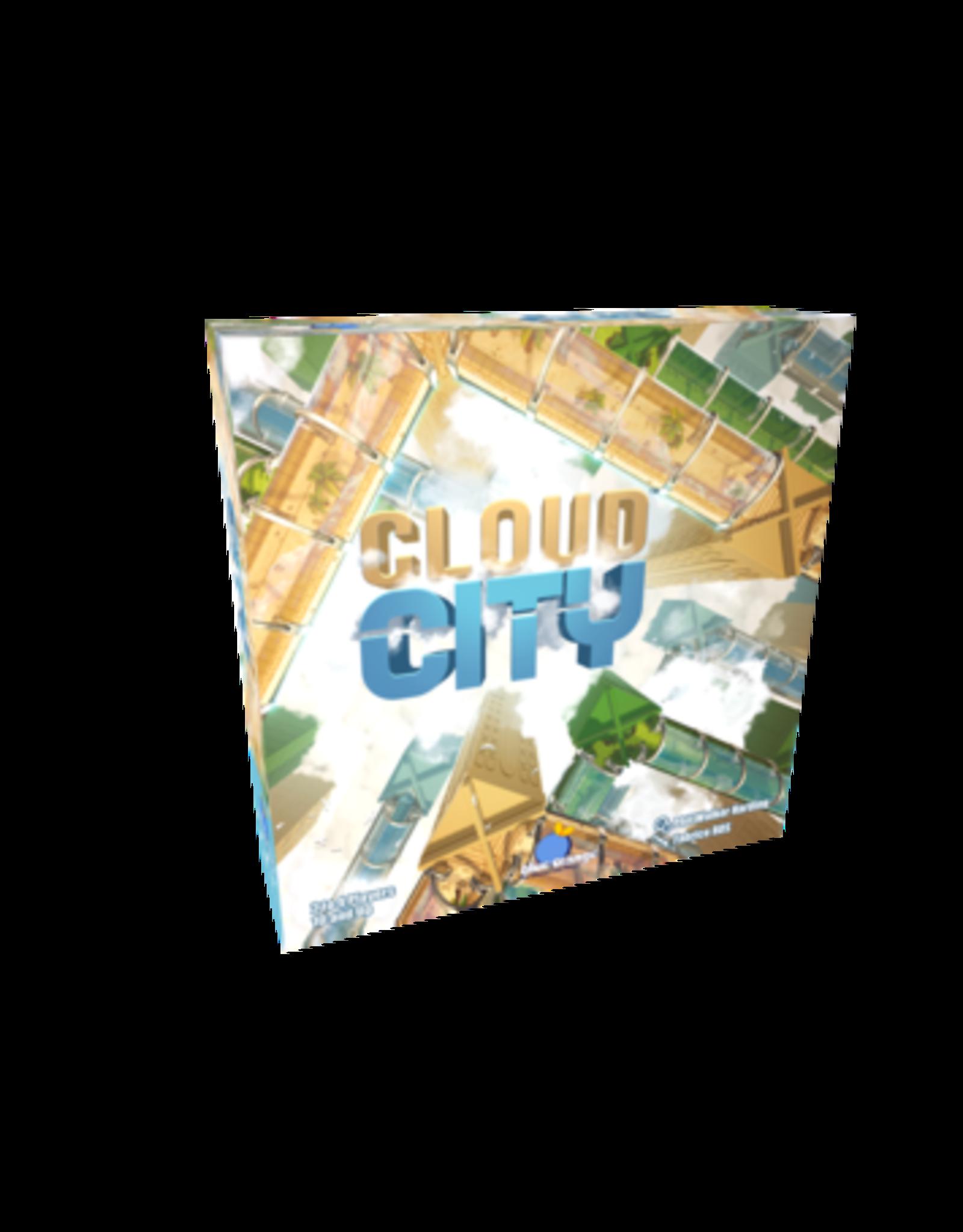 Blue Orange Cloud City