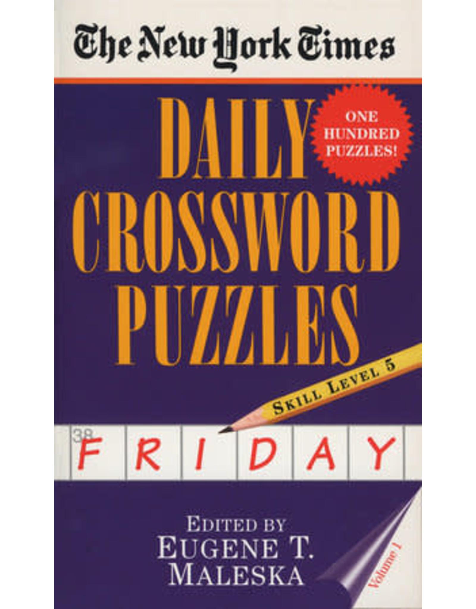 Penguin Random House New York Times: Friday Daily Crosswords