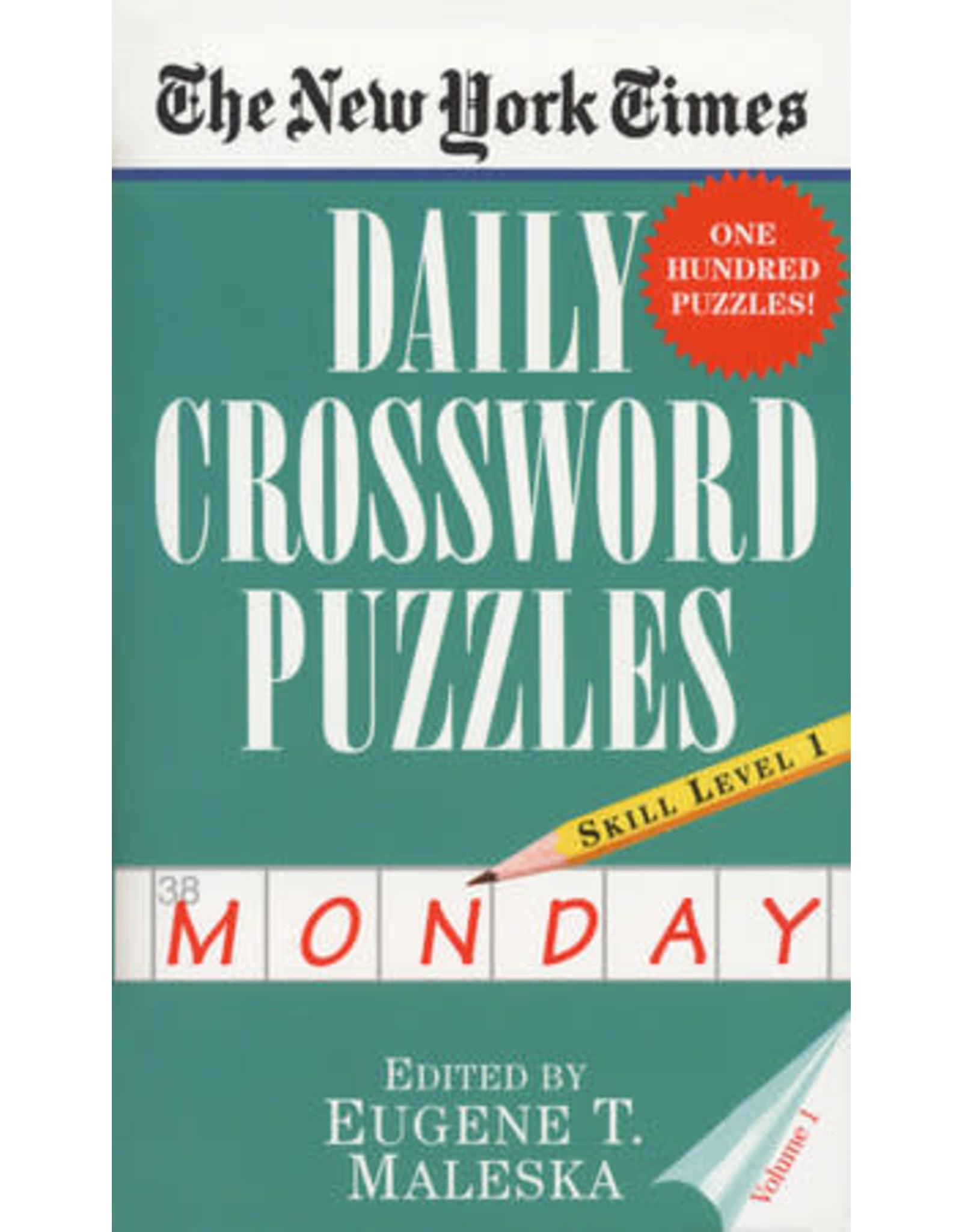 Penguin Random House New York Times: Monday Daily Crosswords