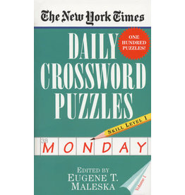 Penguin Random House New York Times: Monday Daily Crosswords