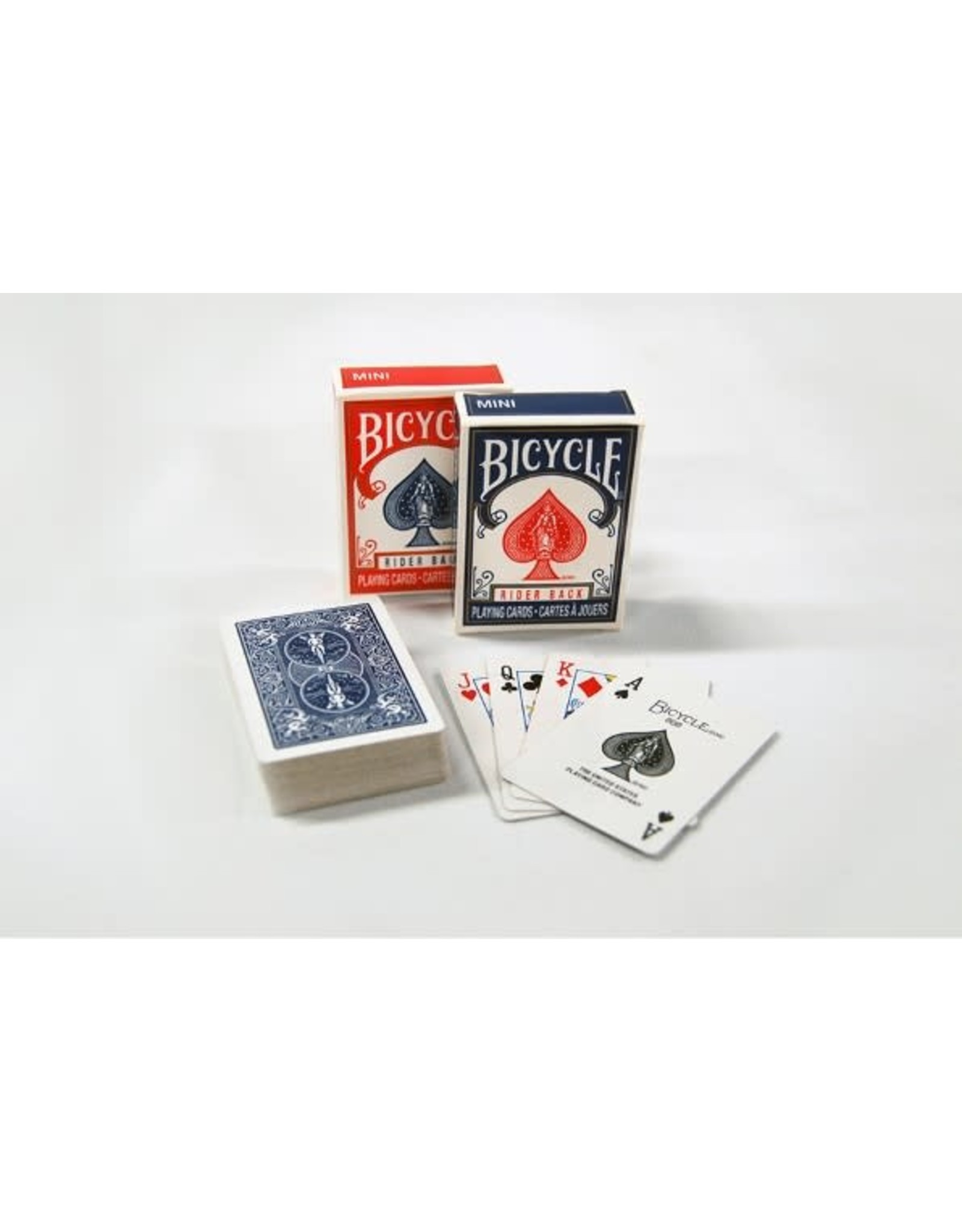 Bicycle Bicycle Playing Cards - Mini Red/Blue