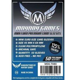 Mayday Games Inc. Deck Protectors: Mini Euro Premium (Mayday)
