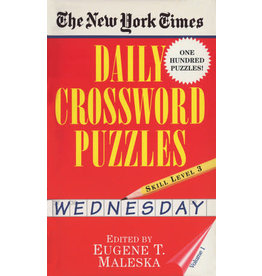 Penguin Random House New York Times Wednesday Daily Crosswords