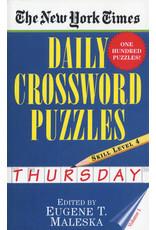 Penguin Random House New York Times Thursday Daily Crosswords