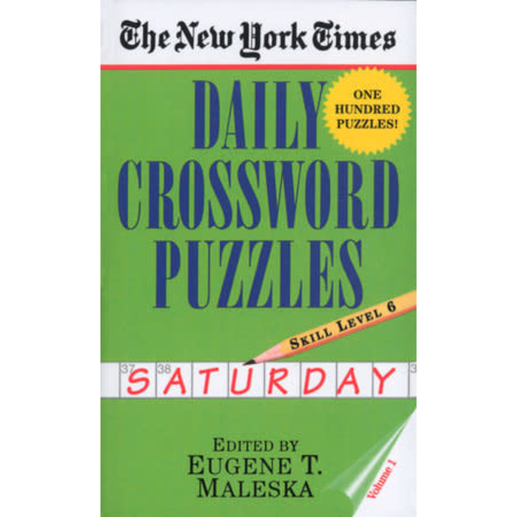 Penguin Random House New York Times Saturday Daily Crosswords