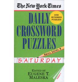 Penguin Random House New York Times Saturday Daily Crosswords