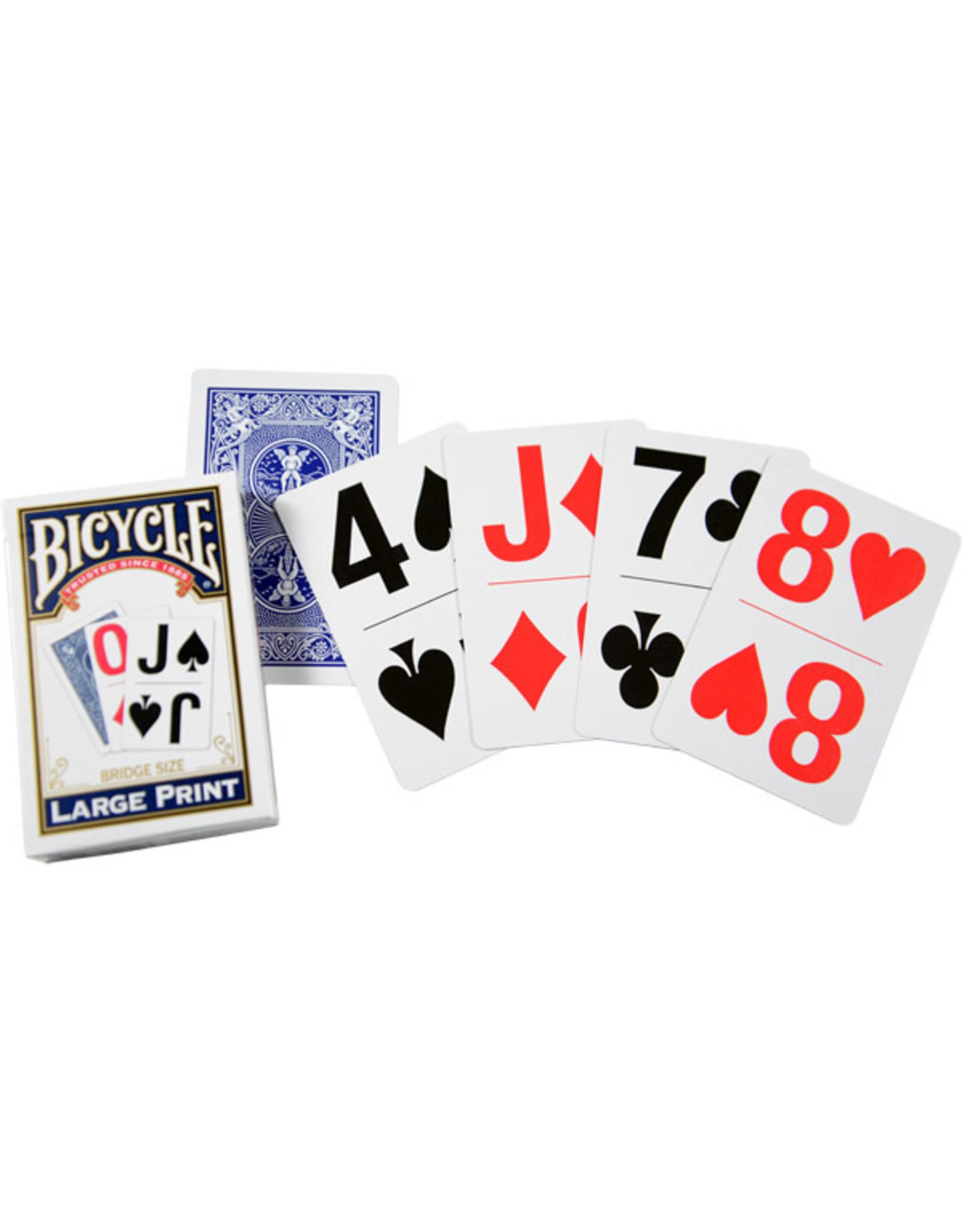 Bicycle Bicycle Super Jumbo Bridge Playing Cards