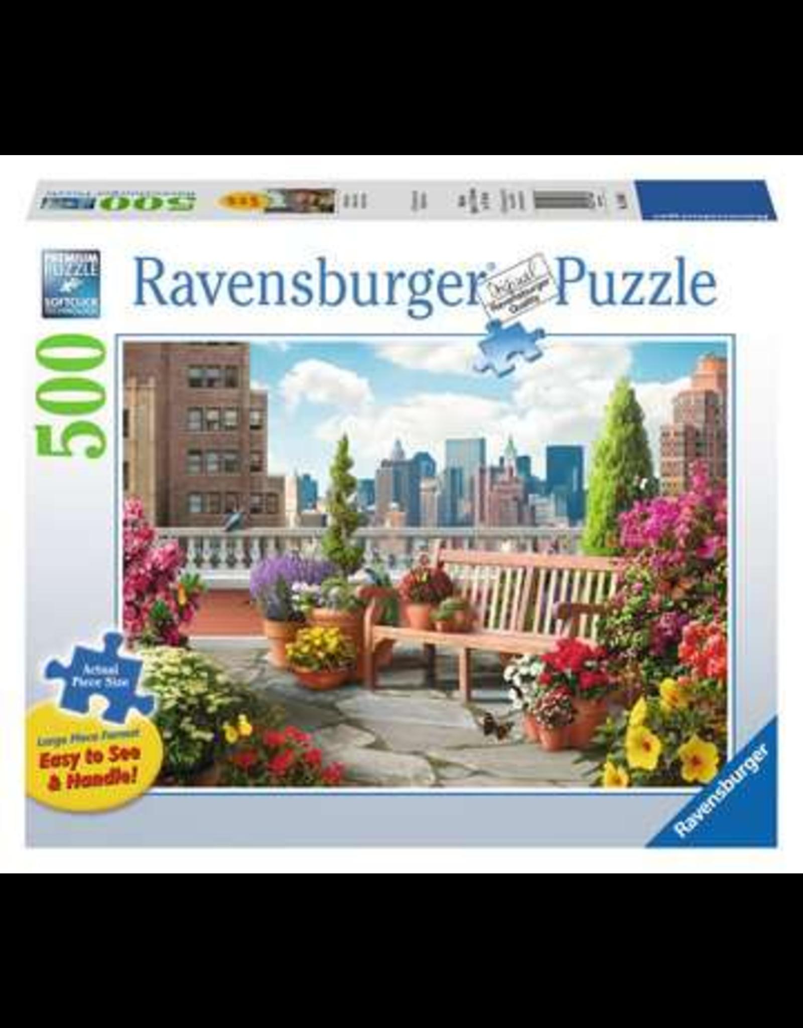 Ravensburger Rooftop Garden 500p