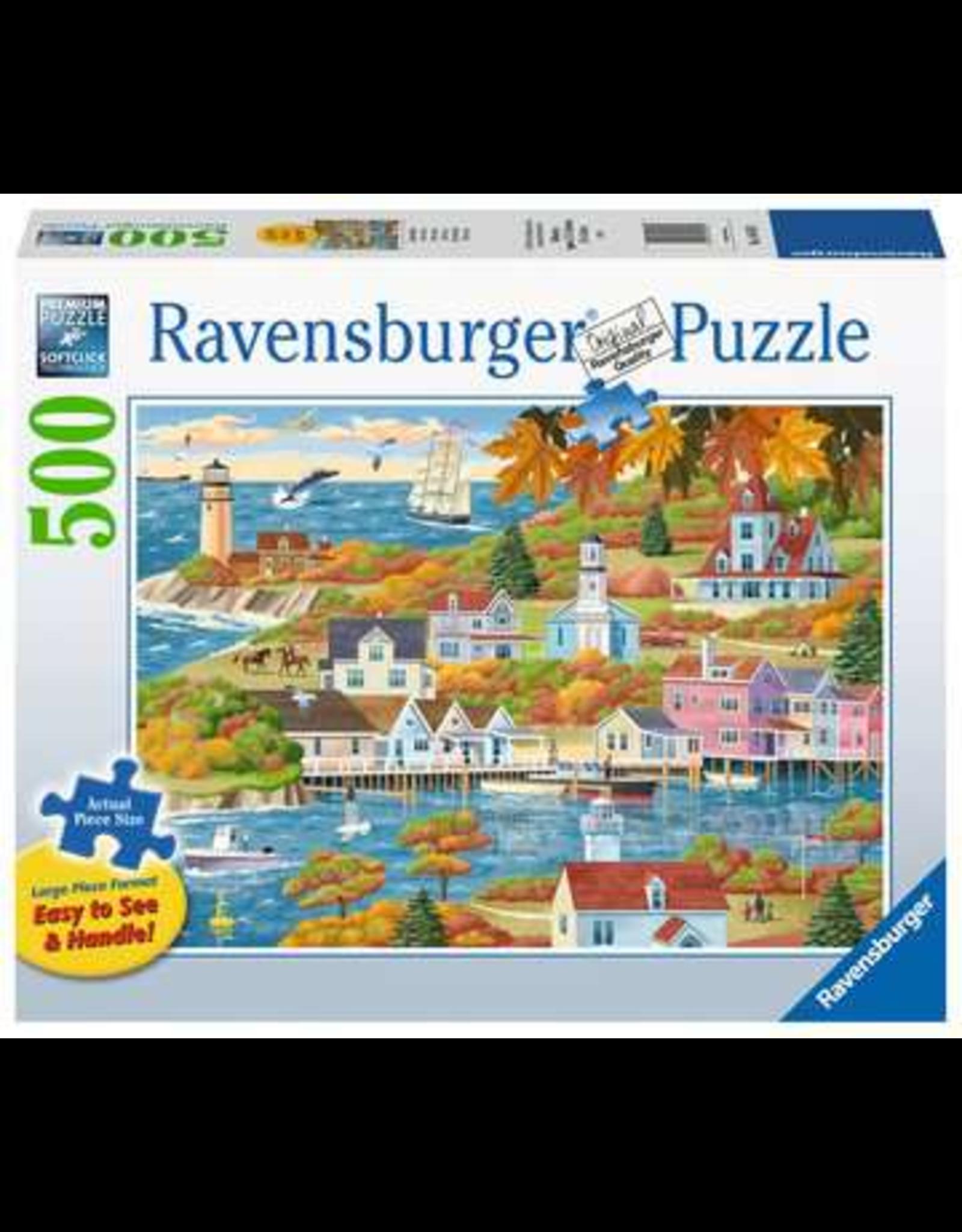 Ravensburger By Land & Sea 500p