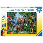 Ravensburger Elephants in the Jungle 150 - Piece jigsaw puzzle