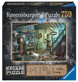Ravensburger Escape Puzzle The Forbidden Basement 759p