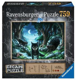 Ravensburger Escape Puzzle The Curse of the Wolves 759p