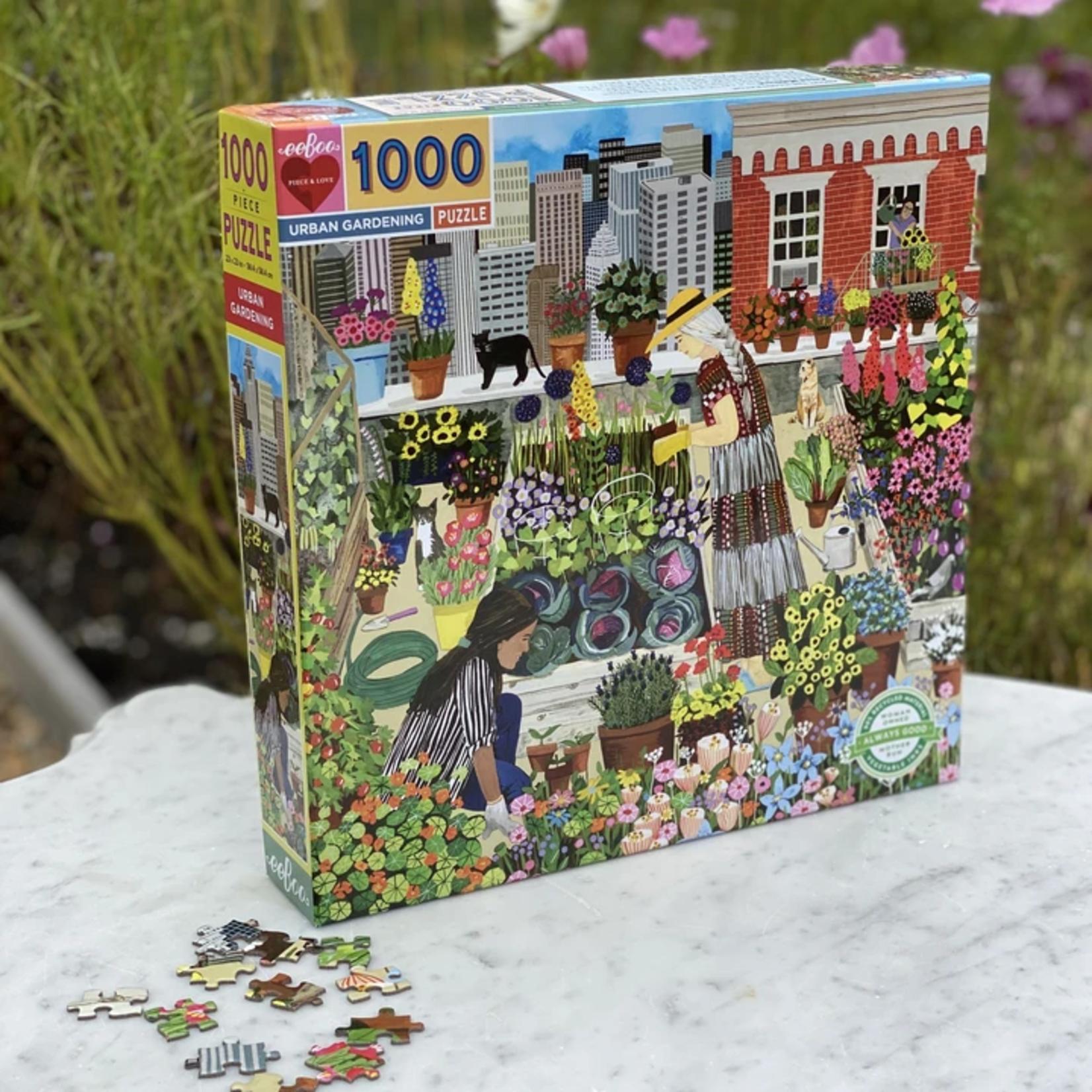 Eeboo Urban Gardening - 1000 Piece Jigsaw Puzzle