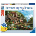 Ravensburger Cottage on a Lake 300 - Piece jigsaw puzzle