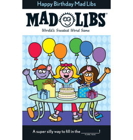 Penguin Random House Mad Libs Happy Birthday