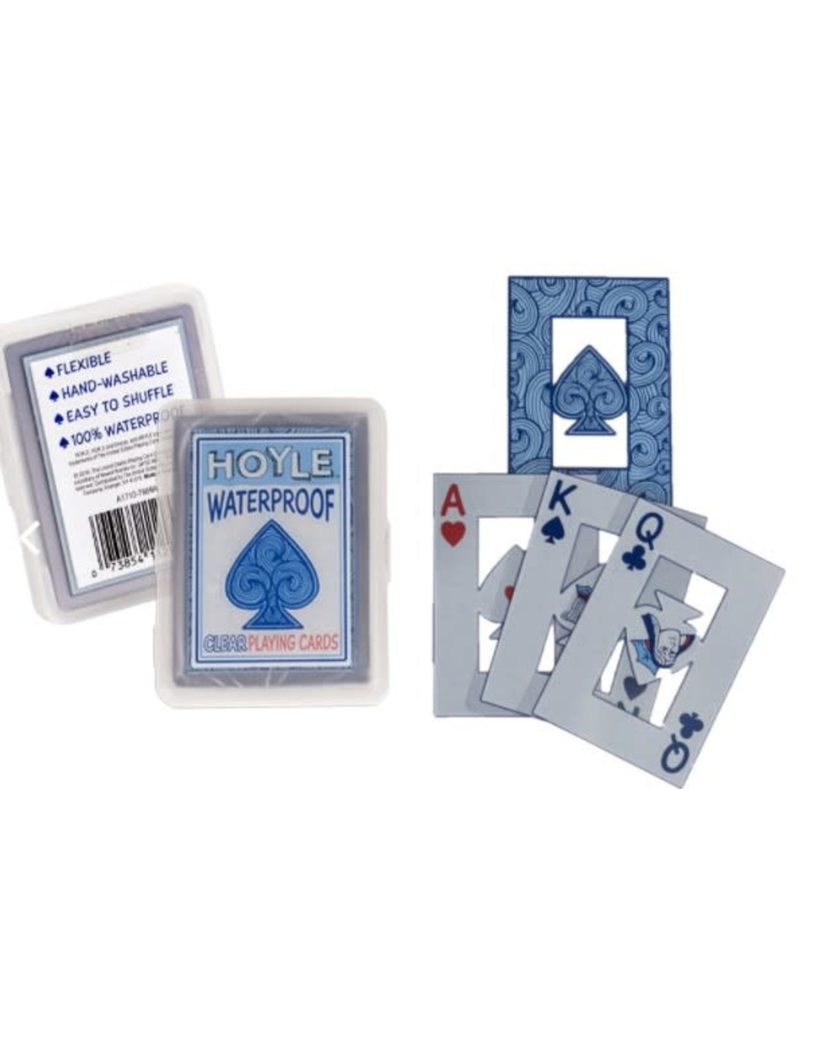 Bicycle Hoyle Clear Waterproof Playing Cards