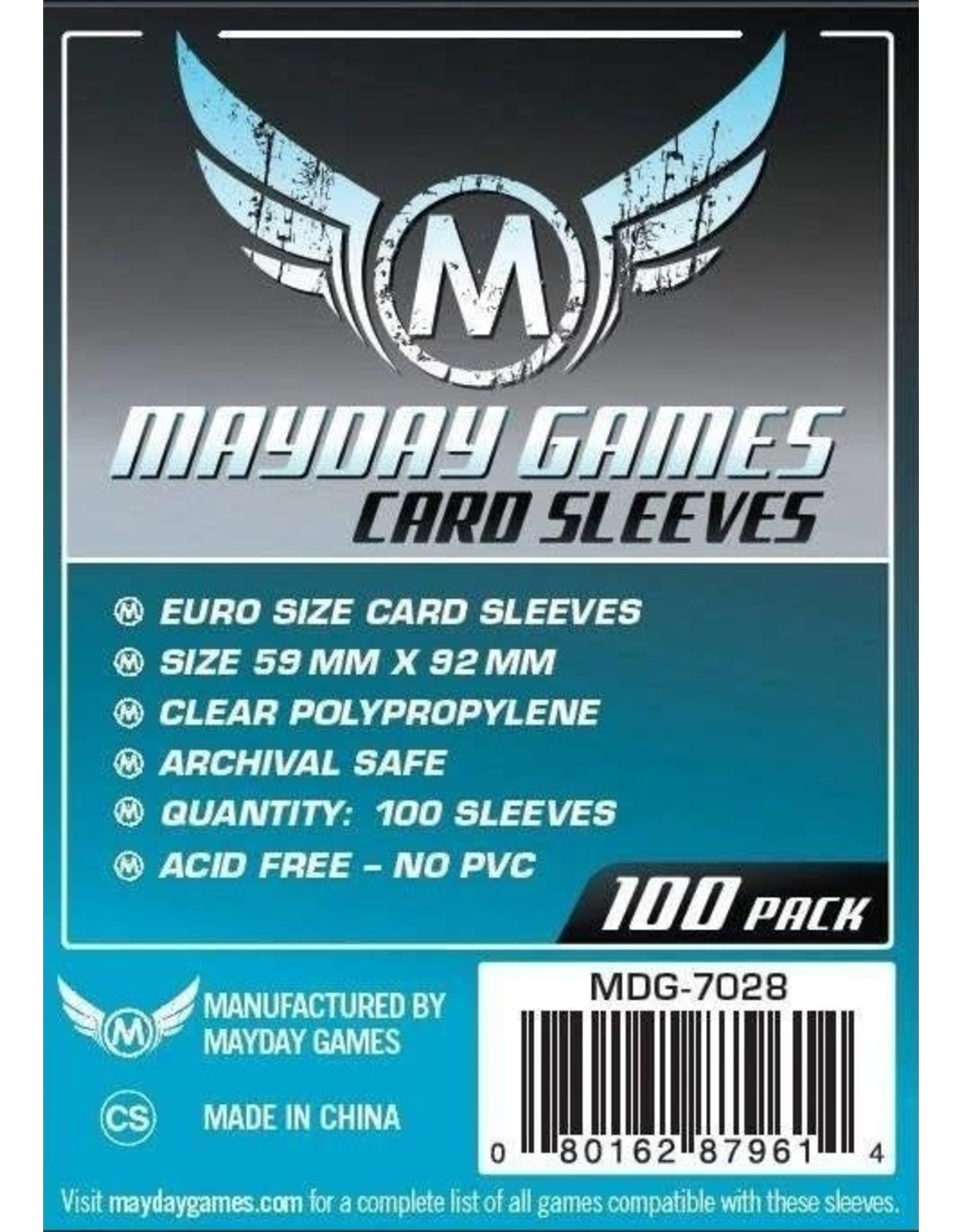 Mayday Games Inc. Mayday Standard Euro Card Sleeves