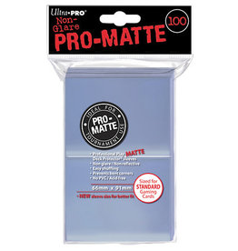 Ultra Pro Deck Protectors: Pro-Matte Clear (100)