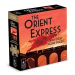 BePuzzled Mystery Puzzle The Orient Express - 1000 Piece Jigsaw Puzzle