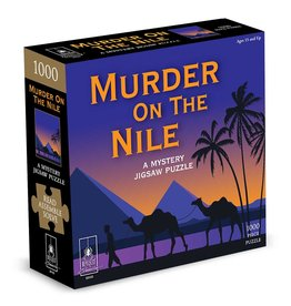 BePuzzled Mystery Puzzle Murder on the Nile 1000-piece Puzzle