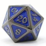 Die Hard Dice Dire d20 Die: Sinister Sapphire