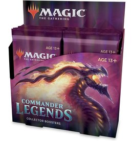 Magic: The Gathering MTG CMR Commander Legends Collector Booster Box