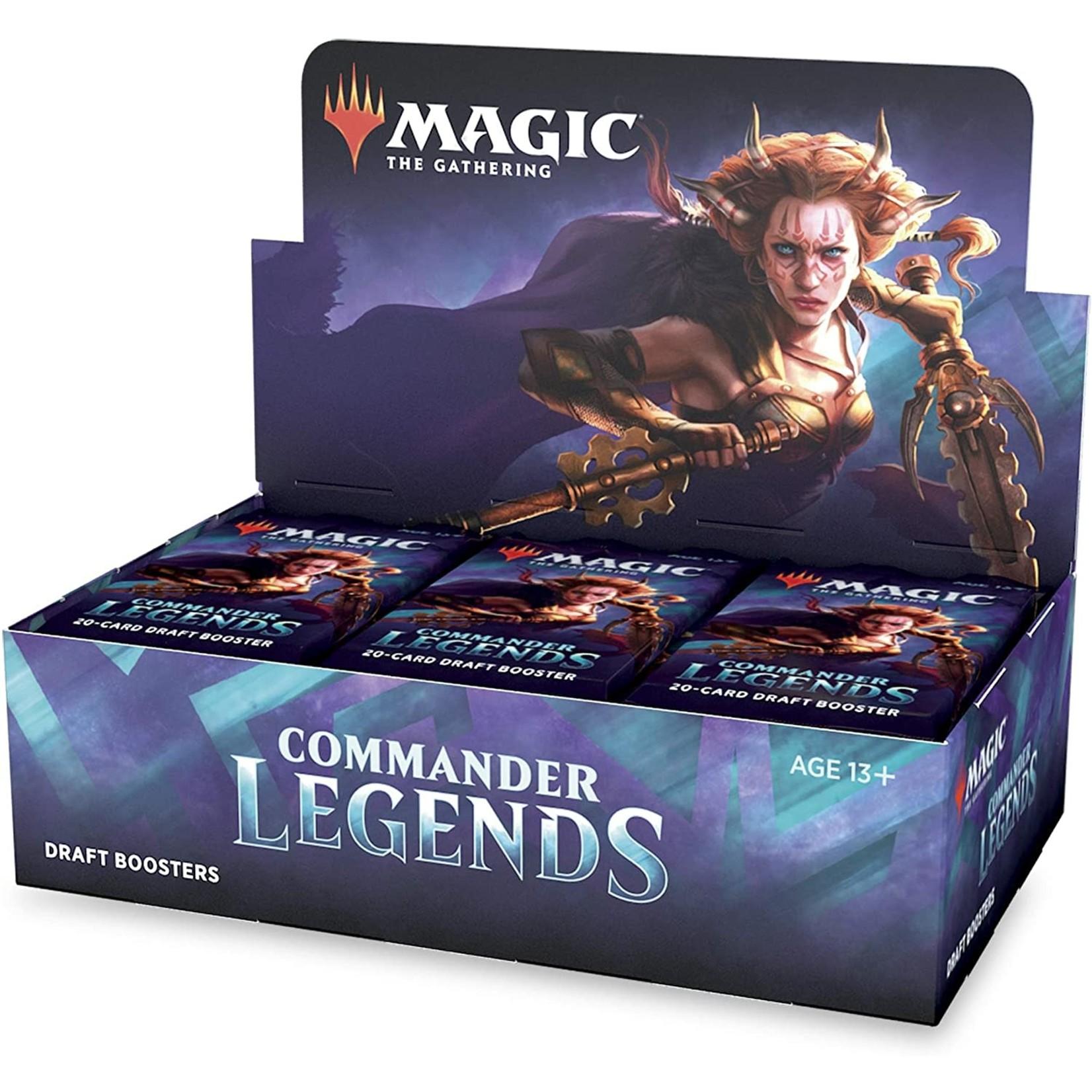 Magic: The Gathering Magic: The Gathering - Commander Legends Draft Booster Box (MTG CMR)