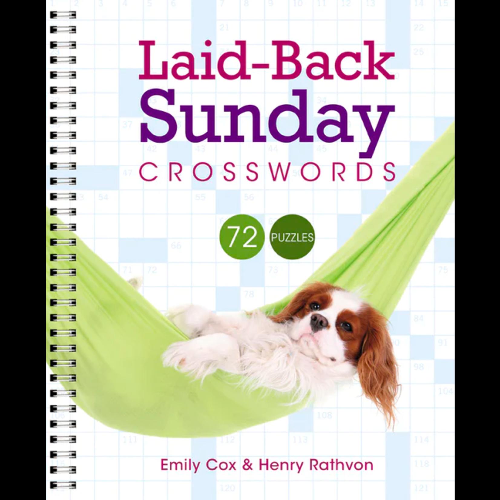 Puzzlewright Laid Back Sunday Crosswords