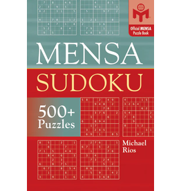 Sterling Publishing Mensa Sudoku