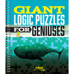 Puzzlewright Giant Logic Puzzles for Geniuses