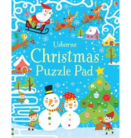 Usborne Usborne Christmas Puzzle Pad