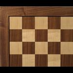 "Worldwise Imports [Pickup Only] Chess Board 14"" Walnut/Maple"