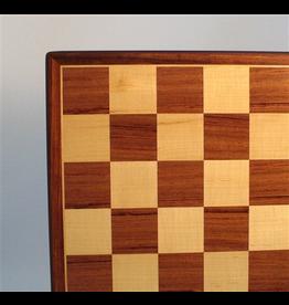"""Worldwise Imports [Pickup Only] Chess Board 17.3"""" Padauk/Maple"""