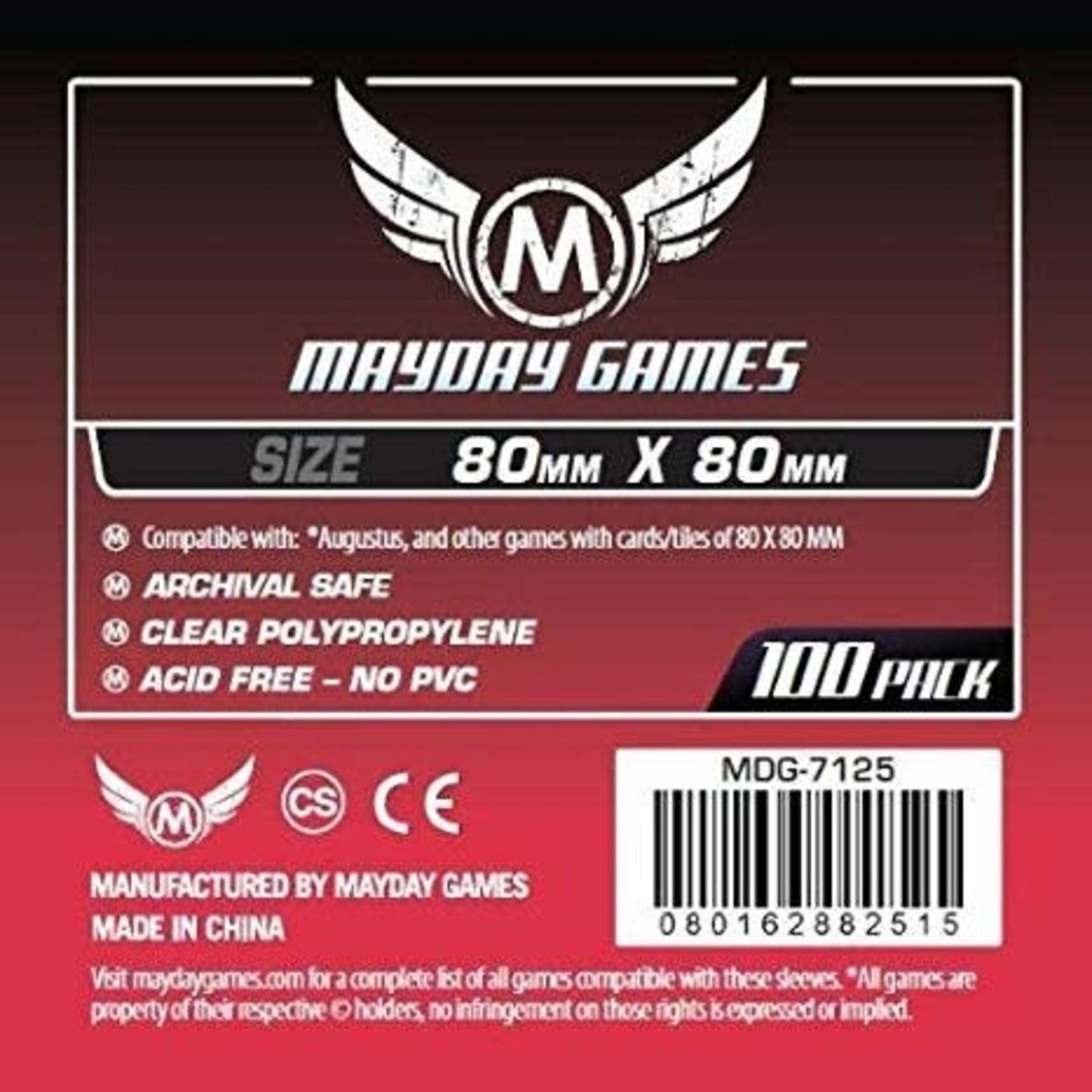 Mayday Games Inc. Deck Protector  80x80 Premium (Mayday)