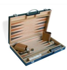 "Wood Expressions [Pickup Only] Backgammon 15"" Blk Zebra Wood"