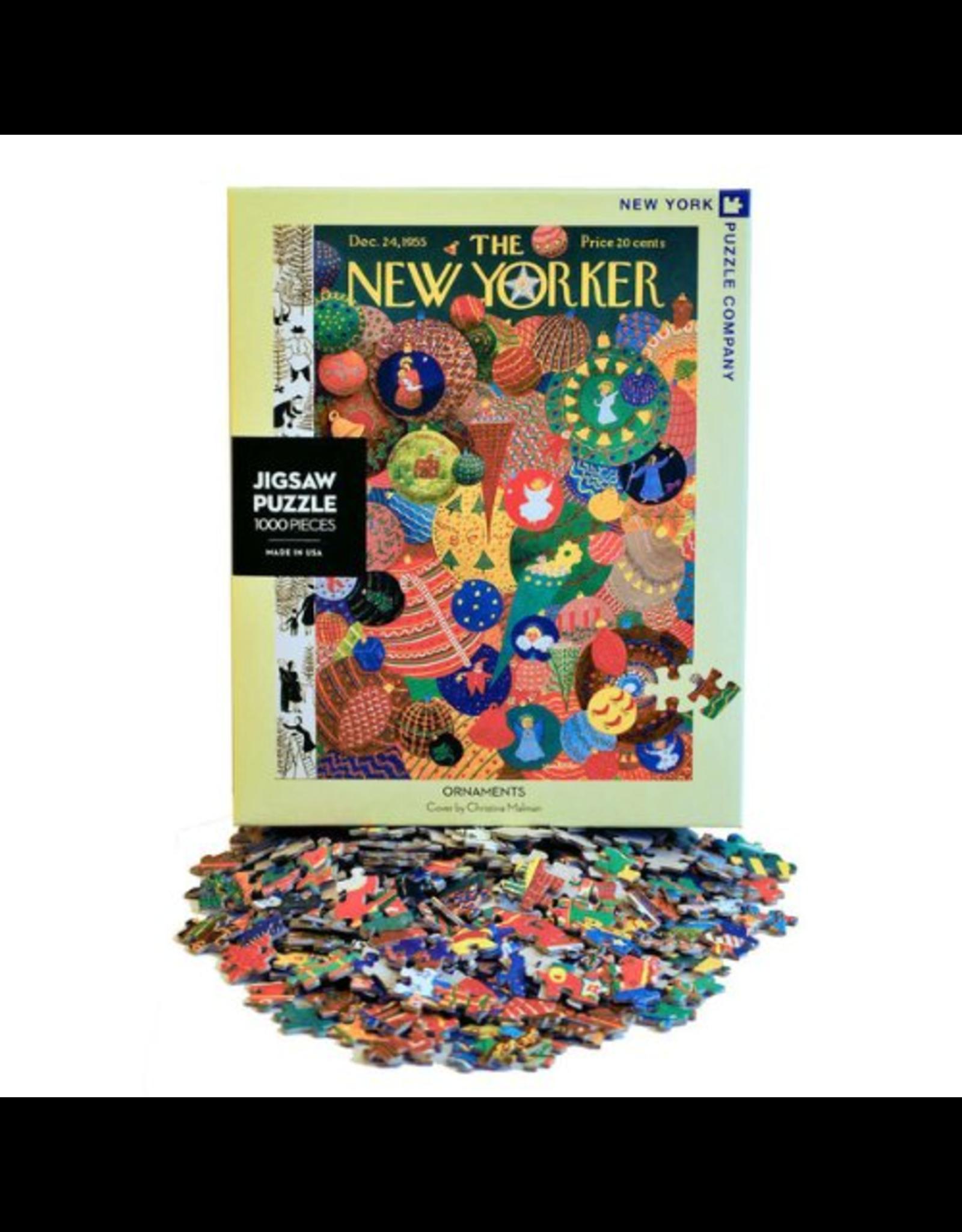 New York Puzzle Company Ornaments 1000p