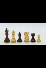 "Worldwise Imports Chess Pieces 3.75"" Rosewood/Boxwood Staunton"