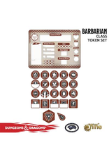 Gale Force Nine Dungeons & Dragons 5th Edition Token Set & Player Board: Barbarian