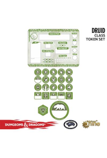 Gale Force Nine Dungeons & Dragons 5th Edition Token Set & Player Board: Druid