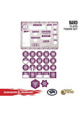 Gale Force Nine Dungeons & Dragons 5th Edition Token Set & Player Board: Bard