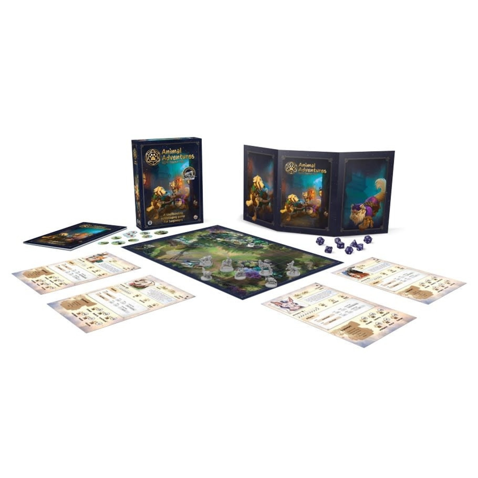 Steamforged Animal Adventures RPG Starter Set