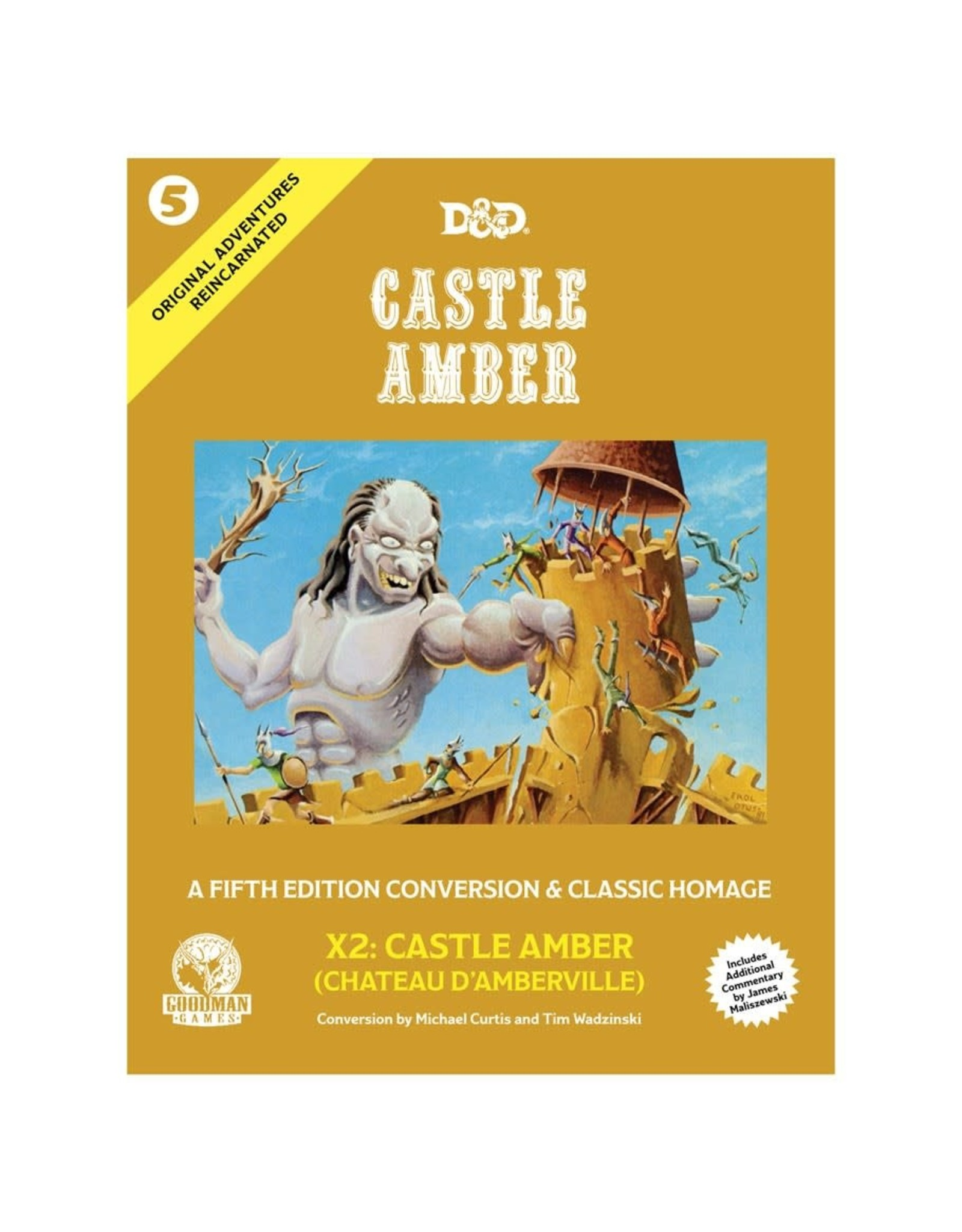 Goodman Games Dungeons & Dragons 5e: Original Adventures Reincarnated 5: Castle Amber