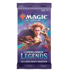 Magic: The Gathering MTG CMR Commander Legends Draft Booster Pack