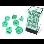 Chessex 7-Set Borealis Luminary Light Green/Gold