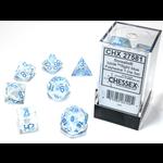 Chessex 7-Set Borealis Luminary Icicle/Light Blue