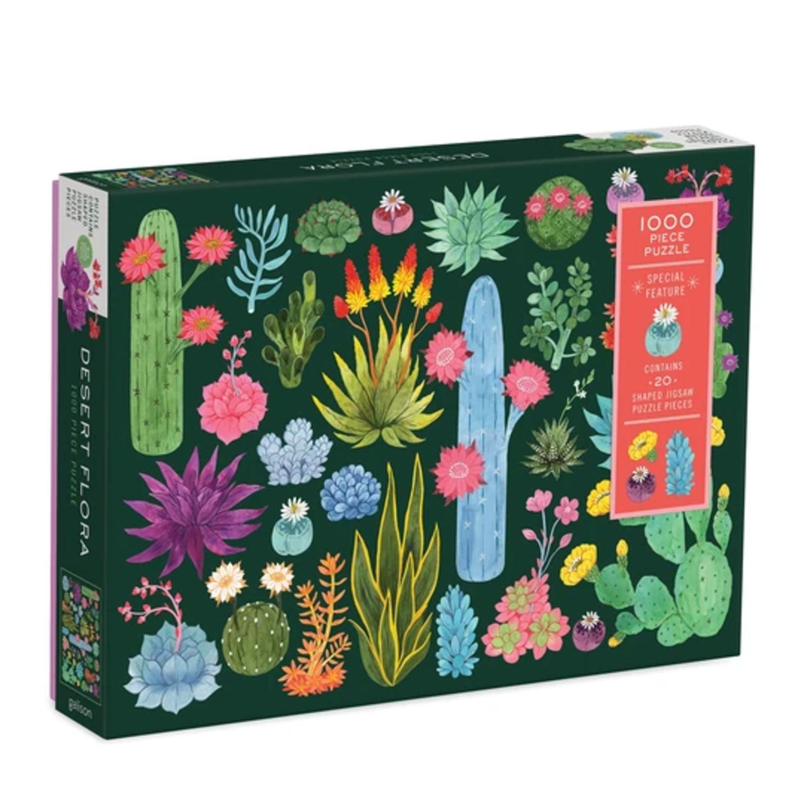 Galison Desert Flora by Amanda Herzman - 1000 Piece Jigsaw Puzzle