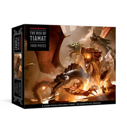 Penguin Random House Dungeons & Dragons: The Rise of Tiamat - 1000 Piece Jigsaw Puzzle