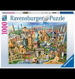 Ravensburger World Landmarks - 1000 Piece Jigsaw Puzzle