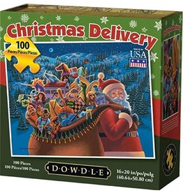 Dowdle Puzzles Christmas Delivery 100 pieces