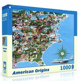 New York Puzzle Company American Origins - 1000 Piece Jigsaw Puzzle